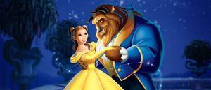 Una escena de la película animada 'La Bella y la Bestia', de 1991.