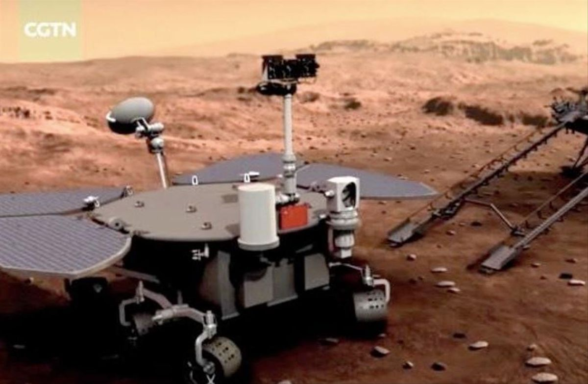 China alcanza Marte