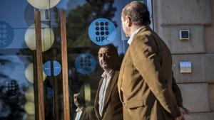 Francesc Torres, rector de la Universitat Politècnica de Catalunya (UPC), este miércoles.