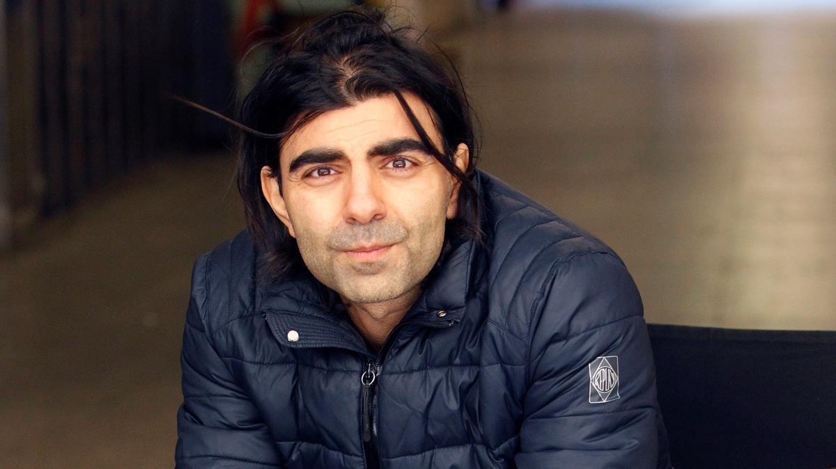 Fatih Akin, fotografiado el miércoles 21 en Madrid, donde presentó 'En la sombra'
