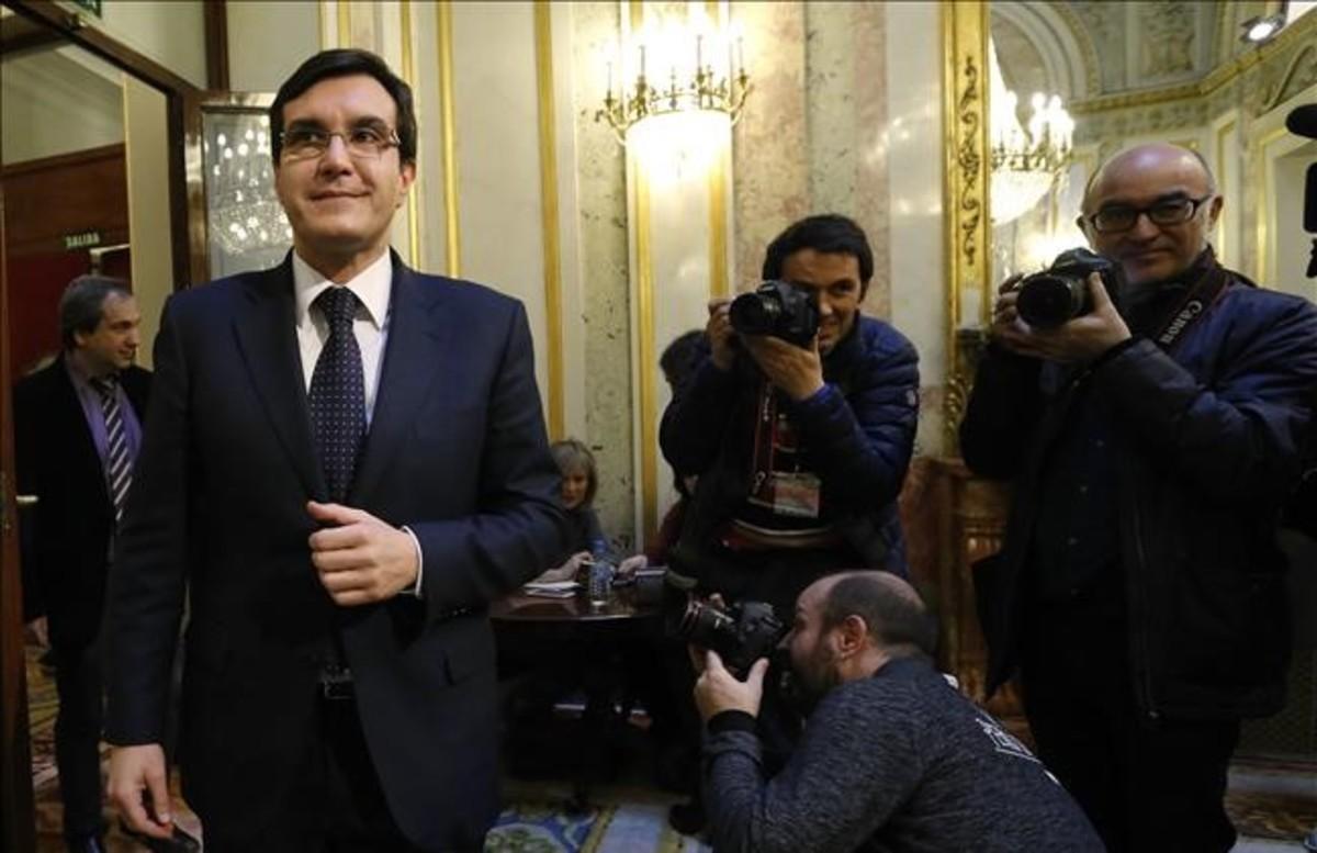 El coordinador de acción parlamentaria delPP,José Luis Ayllón.