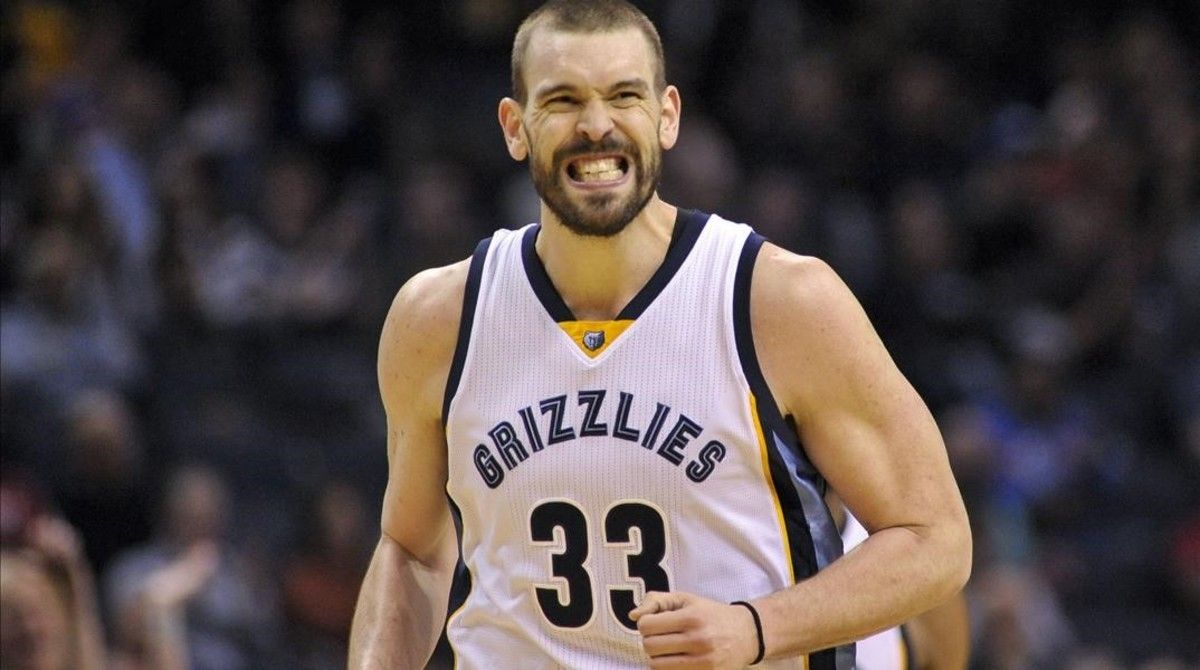 Marc Gasol, tras materializar la victoria de los Grizzlies ante los Knicks.