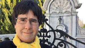 Joaquín Reyes, disfrazado de Carles Puigdemont para 'El intermedio' de La Sexta