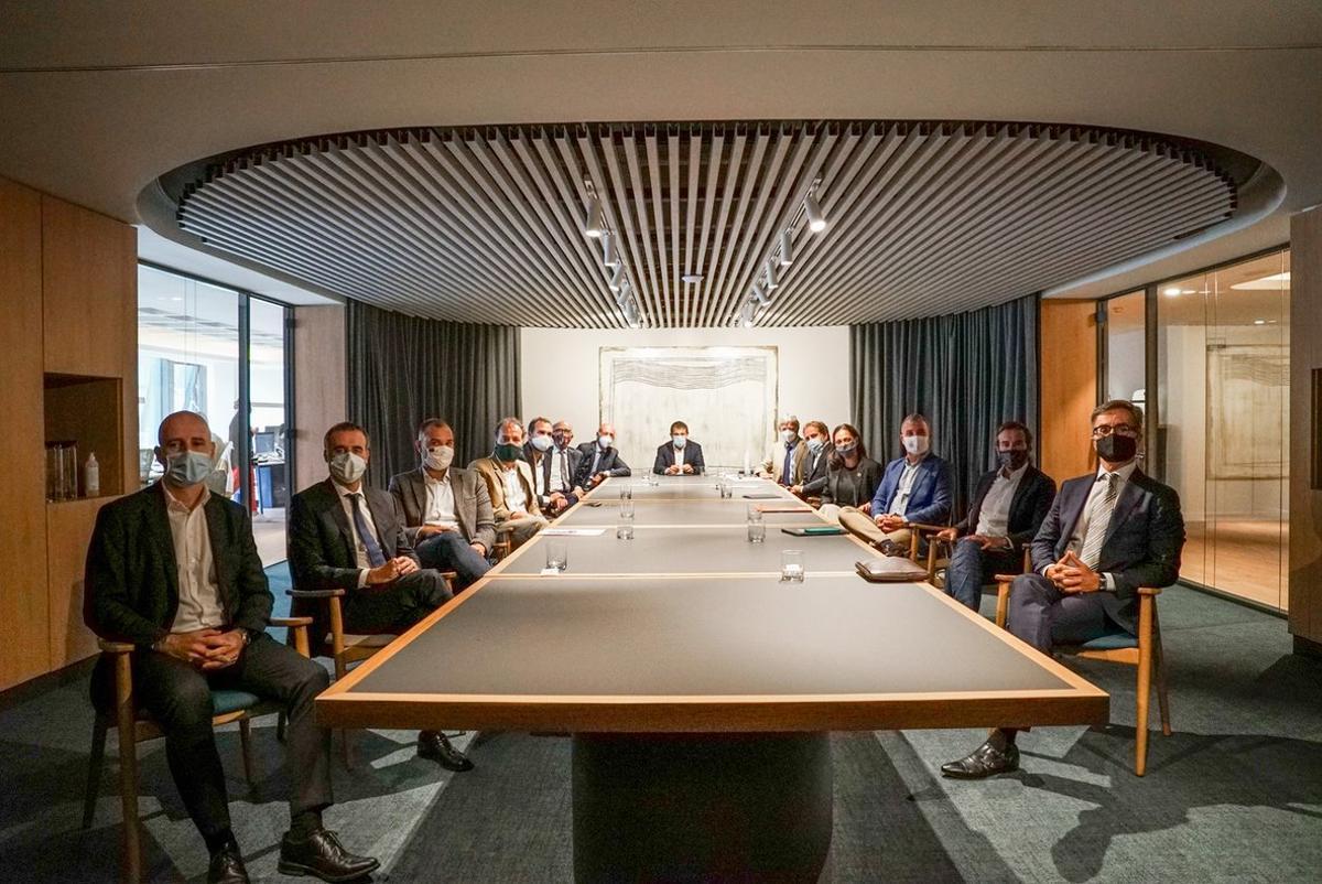 Desprecio A pie Poderoso  Iniciativa para impulsar la creación de empresas en Barcelona