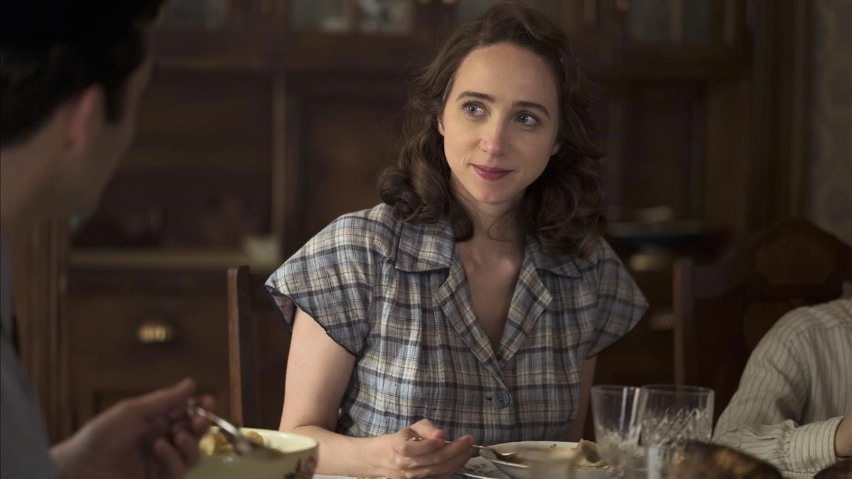 Zoe Kazan en una imagen de 'La conjura contra América'.// HBO