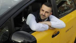 Carlos Rodríguez, uno de los taxistas estafados.
