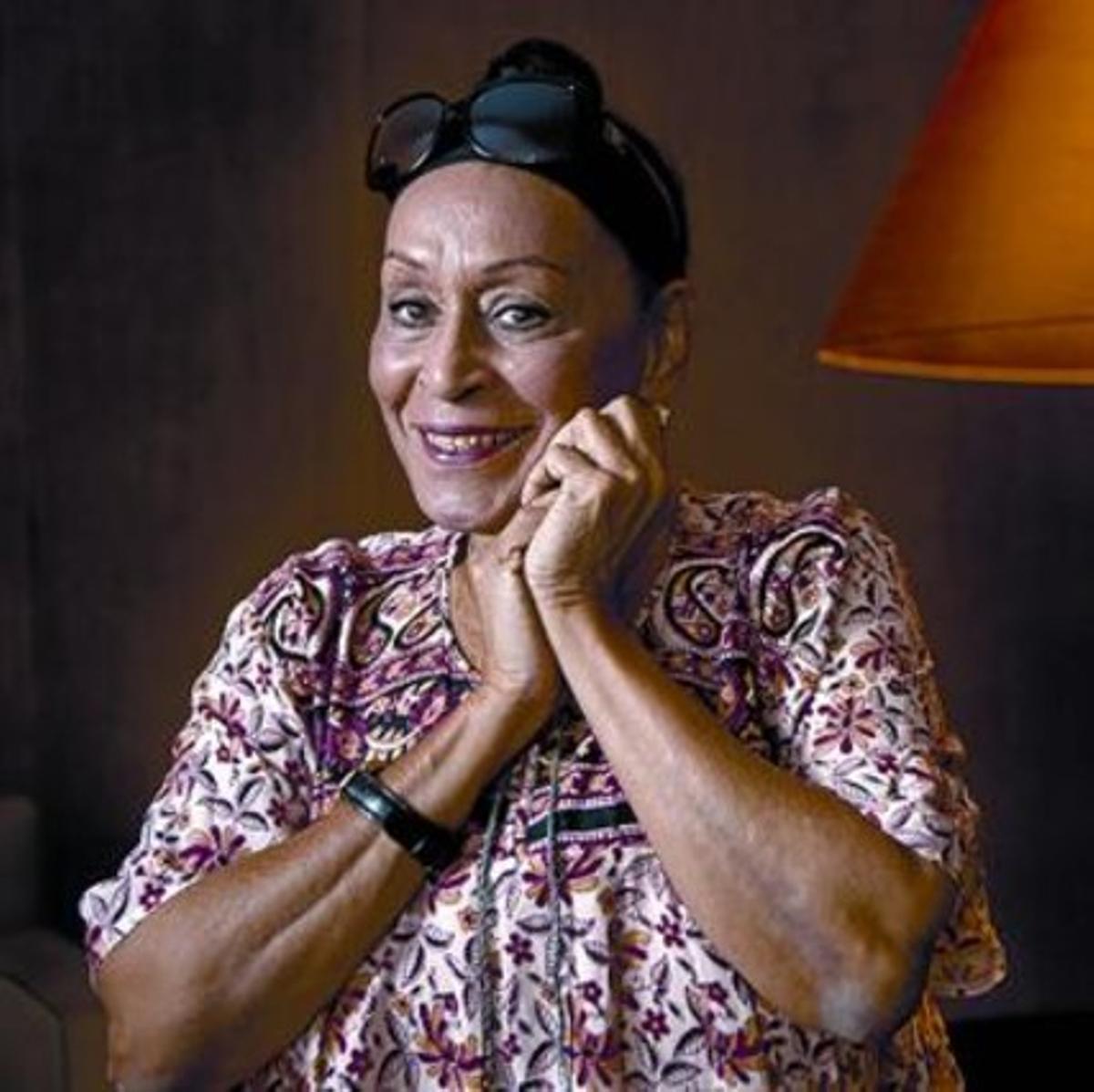 La cantante cubana Omara Portuondo, que hoy actúa en Tarragona con Buena Vista Social Club.