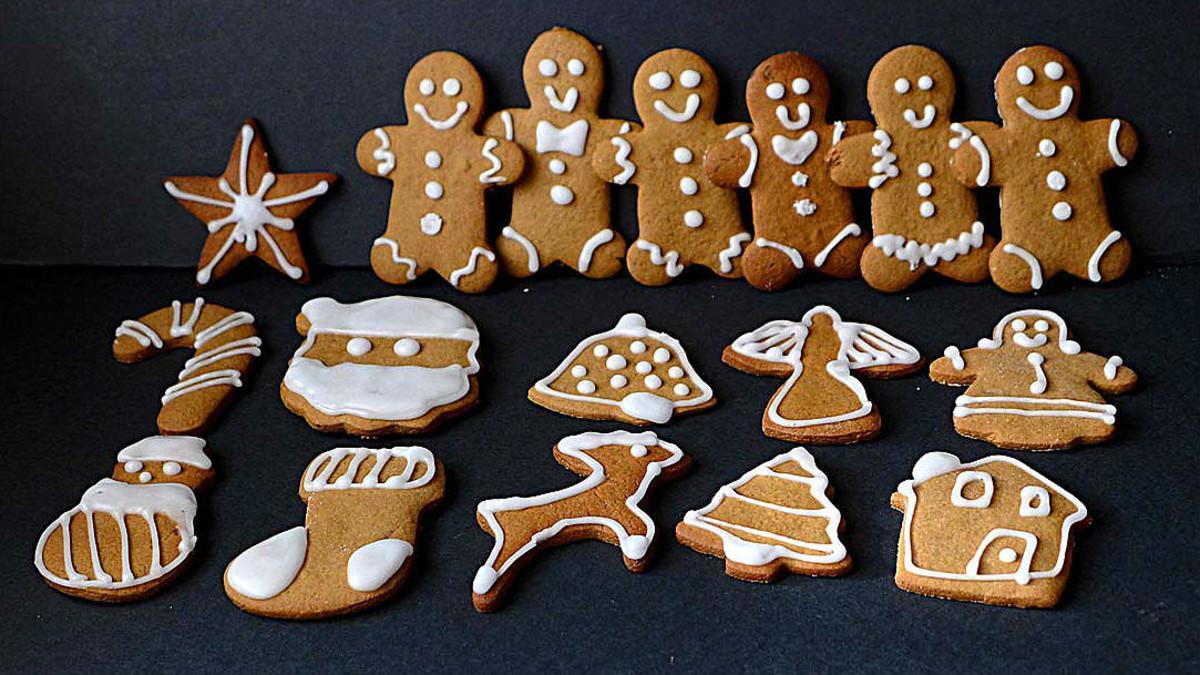 Galletas de jengibre o Gingerbread Man