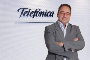 José Manuel Casas, director territorial de Telefónica Mediterráneo.