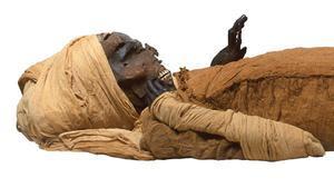 Momia del faraón Seqenenre Taa II.