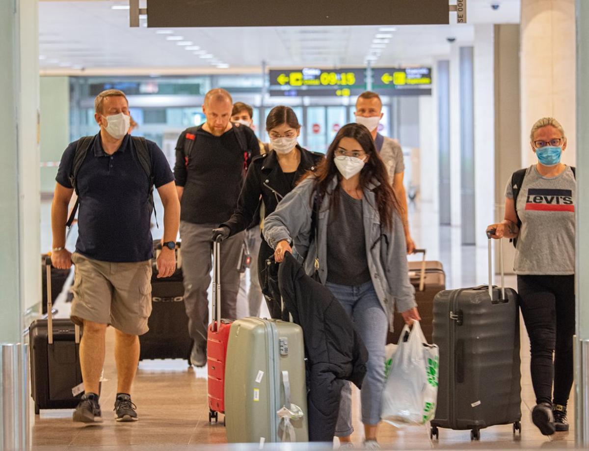 Espanya exigirà una PCR negativa als turistes de països de risc