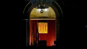 Imagen del hemiciclo del Parlament de Catalunya
