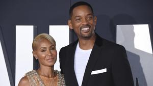 Jada Pinkett y su marido, Will Smith, en una imagen de octubre pasado.