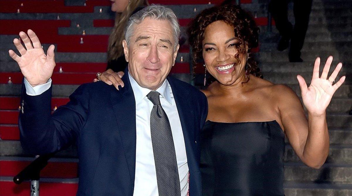 Una imagen de archivo de Robert De Niro y su mujer, Grace Hightower.