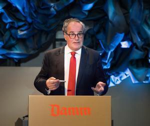 Demetrio Carceller, presidente de Damm.