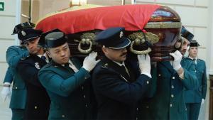 Los restos mortales del fiscal general han llegado esta madrugada