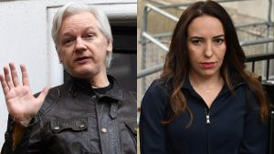 La extraña familia de Julian Assange
