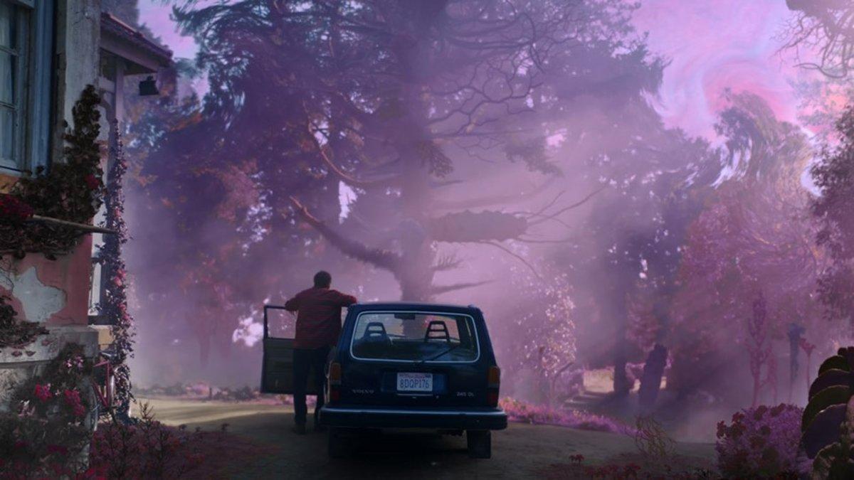 Una imagen promocional de 'Color out of space'