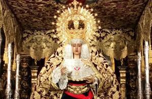 Un jutge obre diligències pel faixí de Franco de la Verge d'una germandat de Sevilla