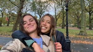 Carlota Alonso y Maria Rotaeche, que viven en Londres.