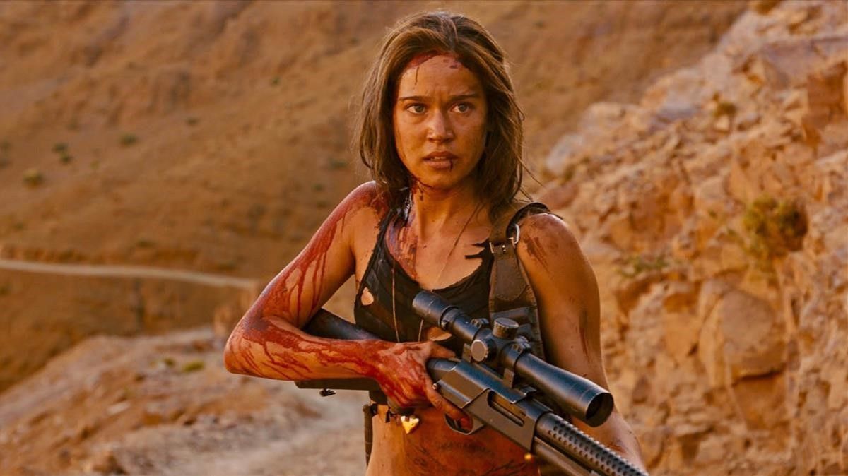Matilda Lutz, en una imagen de 'Revenge'.