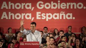 Sánchez aparca el federalisme i apuja el to sobre Catalunya