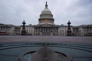 Vista del Capitolio en Washington.