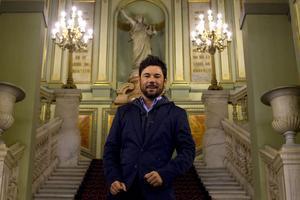 Miguel Poveda, el pasado septiembre en el Liceu.
