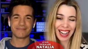 Natalia, en directo con Ricky García: '¡Qué fuerte, tía!', 'OT', 'Eurovisión', Orgullo LGTBI y su adoración por Bertín Osborne