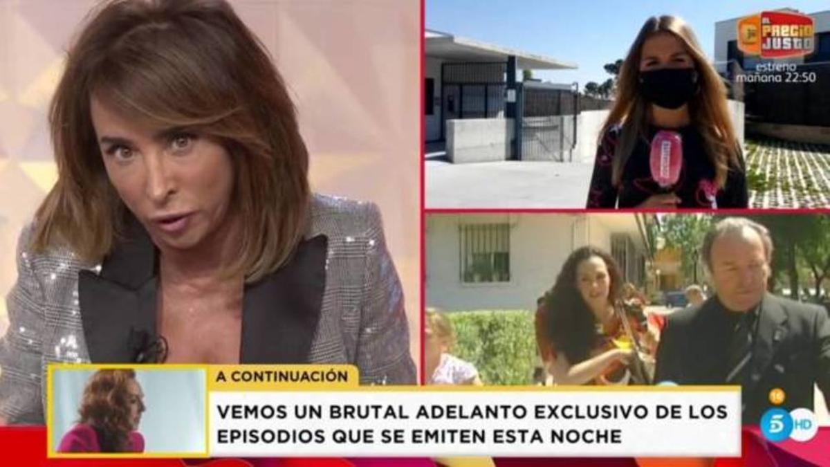 María Patiño adverteix a Rocío Flores: «Tenia intenció de fer mal a la teva mare»