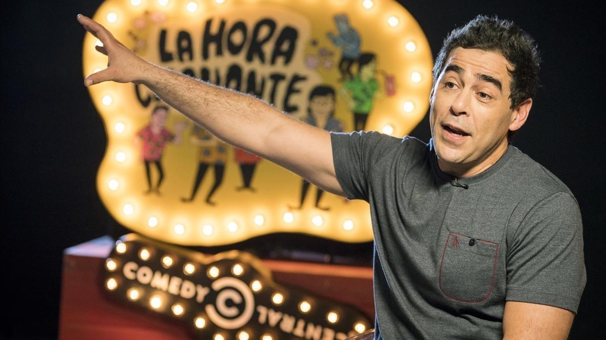 Pablo Chiapella, en el especial sobre 'La hora chanante' de Comedy Central.