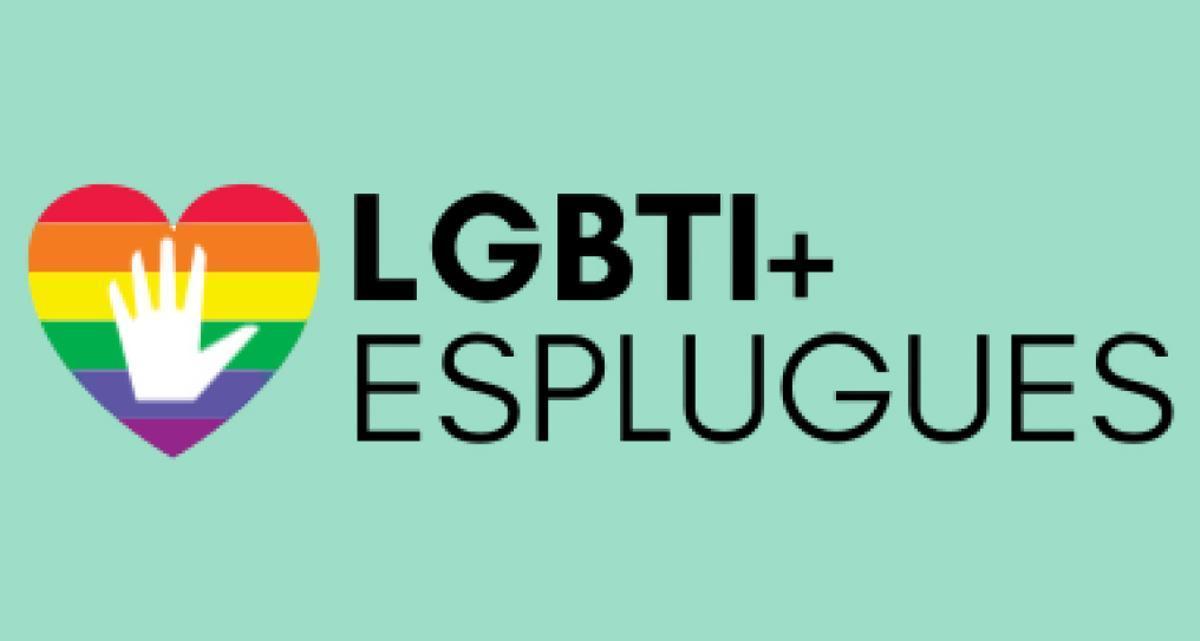 Logotipo del SAI LGTBI+ de Esplugues