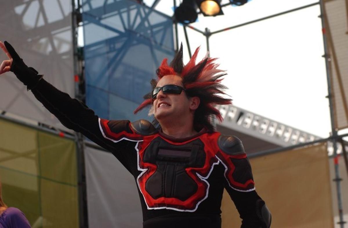 Joan Dausà, como el Krust del Super 3.