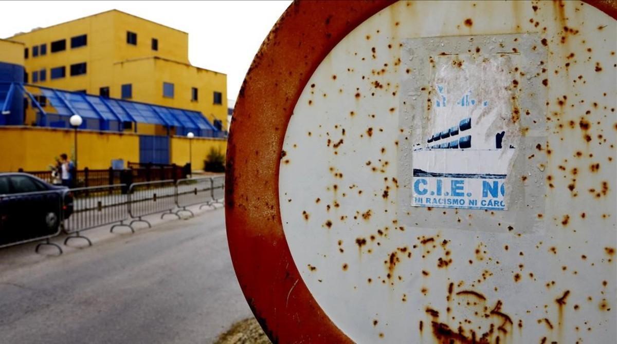 CIE de Aluche, en Madrid