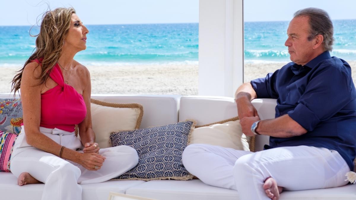 Paz Padilla y Bertín Osborne en 'Mi casa es la tuya'.
