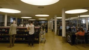 La biblioteca Manel Arranz, en Can Saladrigas.