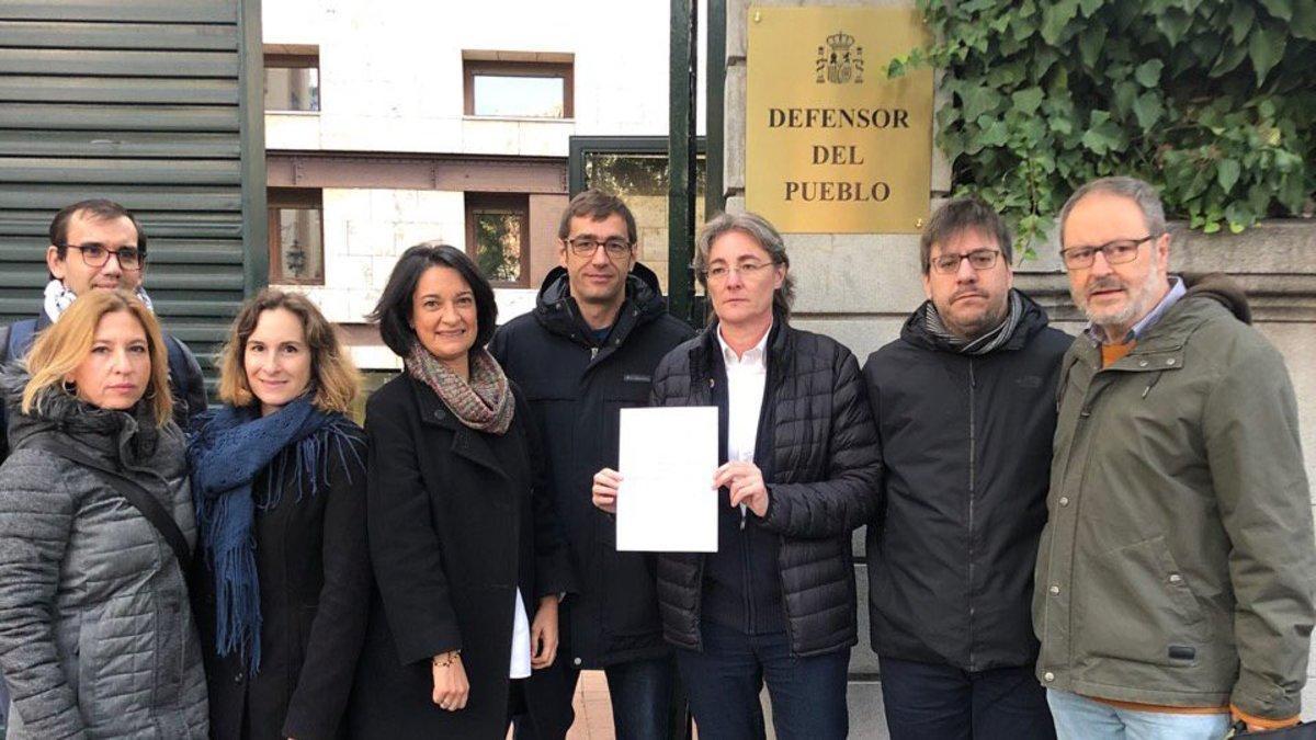 Diputados y concejales de Más Madrid.