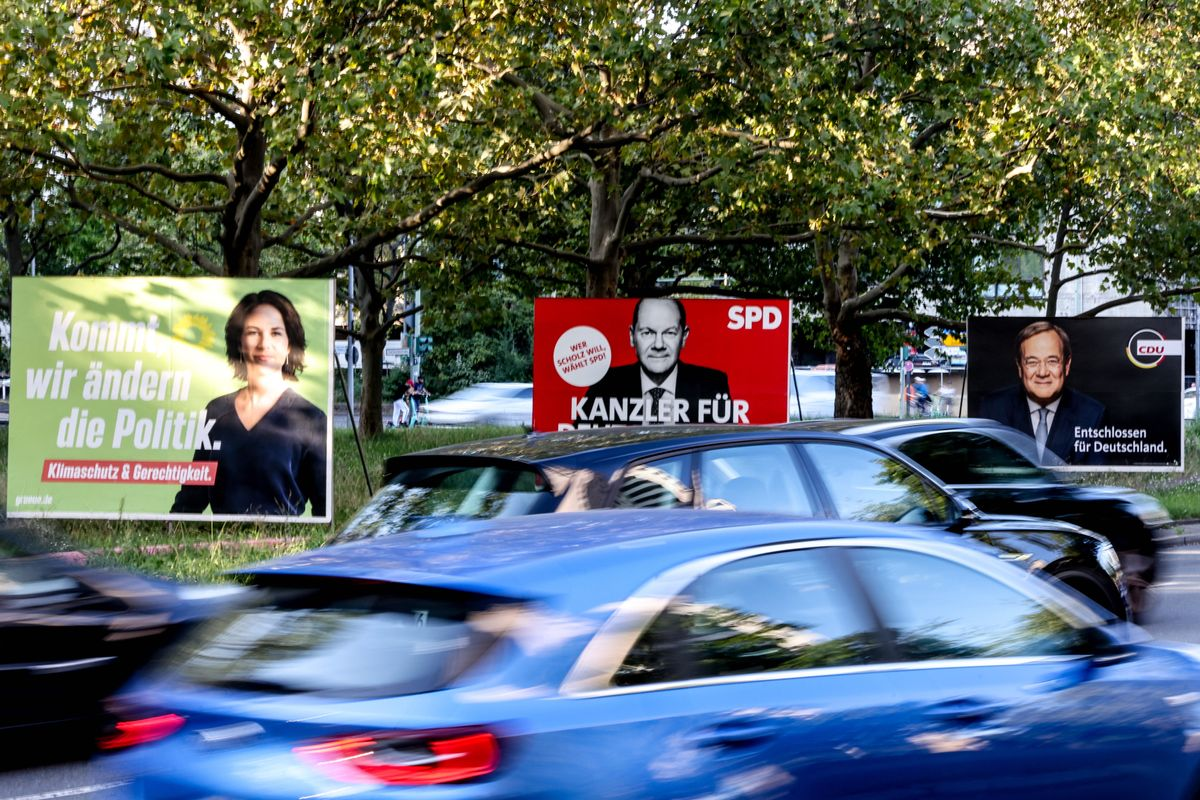 German federal election campaign