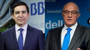 BBVA i Sabadell negocien repartir-se la presidència i vicepresidència