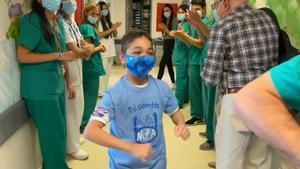 Un trasplantament pioner salva la vida d'un nen de 15 anys