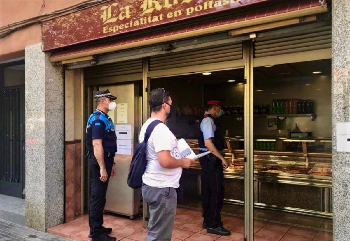 50 denuncias en Esplugues durante el segundo fin de semana con restricciones de movilidad