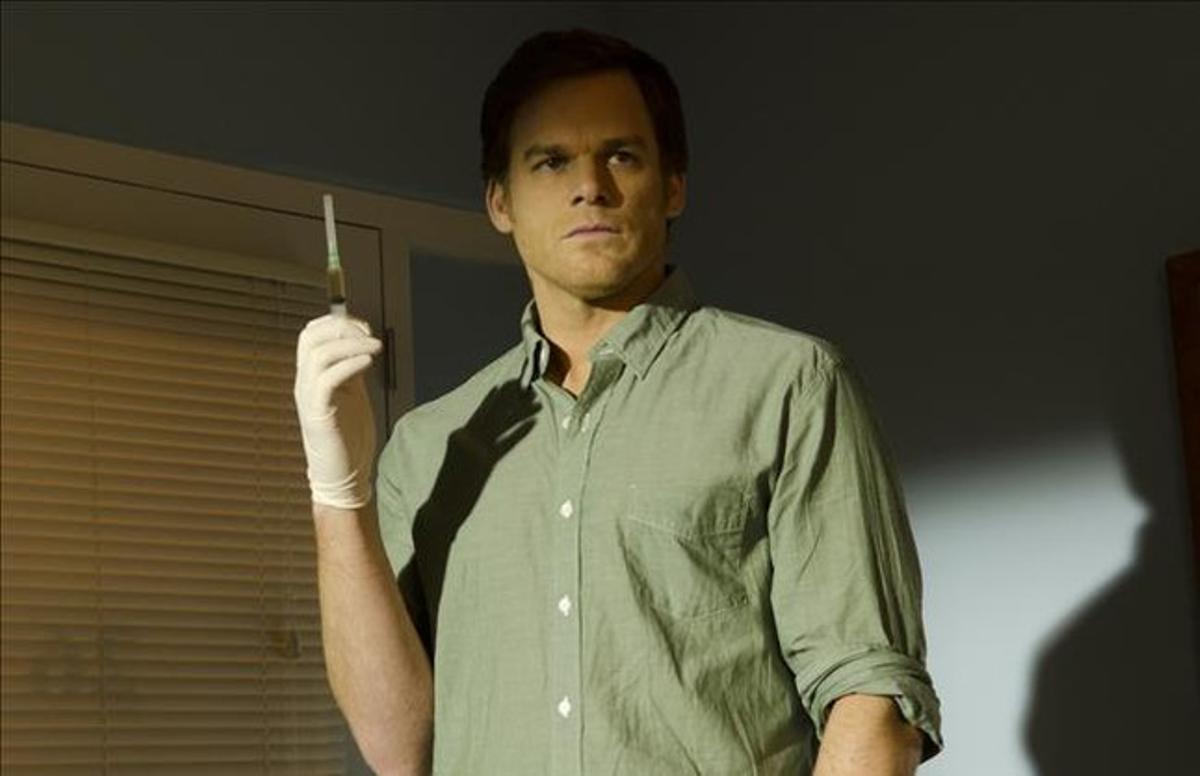 Michael C. Hall, en una imatge de 'Dexter'.