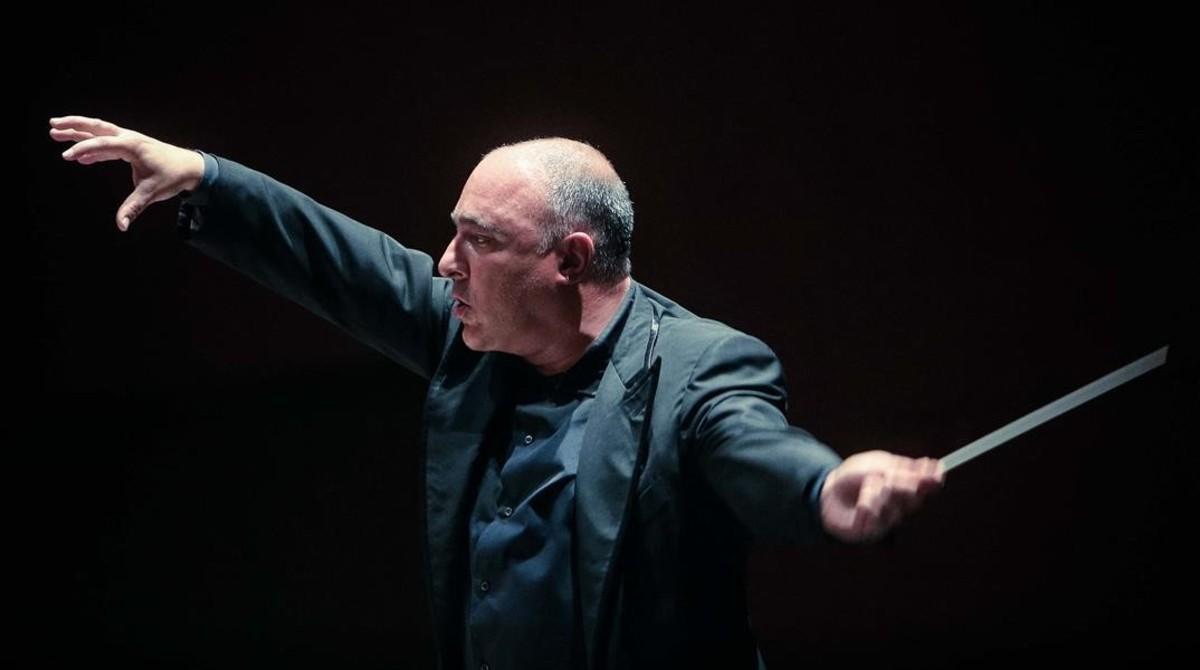El director Ernest Martínez Izquierdo, en el 2016.