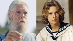 Björn Andrésen, hoy y de joven, en el filme de Visconti.