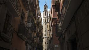 La iglesia de Santa Maria del Mar.
