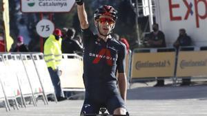 Adam Yates triunfa y se sitúa líder en Vallter 2.000.