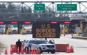 Cierre de fronteras en los EEUU por la pandemia de COVID-19.