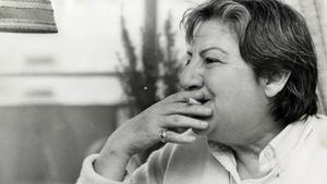 La poeta madrileña Gloria Fuertes.