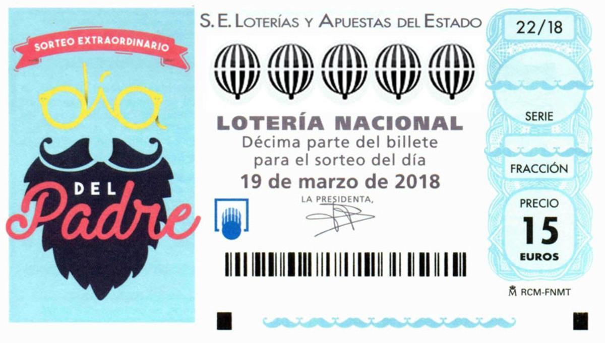 Lotería Nacional Sorteo Del Día Del Padre 2018