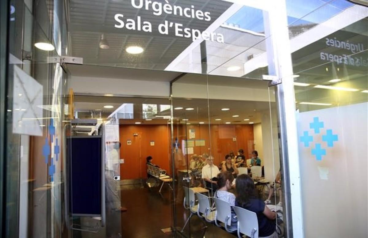 Aspecto del servicio de Urgencias del Hospital del Mar de Barcelona.